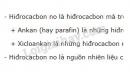 Bài 1 trang 115 sgk Hóa học lớp 11