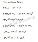 Bài 1 trang 22 SGK Hóa học 11