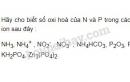 Bài 1 trang 61 SGK Hóa 11