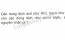 Bài 1 trang 7 SGK Hóa học 11