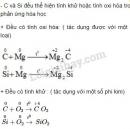 Bài 1 trang 79 sgk Hóa học lớp 11