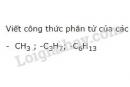 Bài 2 trang 115 sgk Hóa học lớp 11
