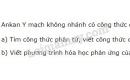 Bài 2 trang 123 sgk Hóa học lớp 11