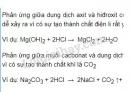 Bài 2 trang 20 SGK Hóa học 11