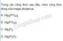 Bài 2 trang 61 SGK Hóa học 11