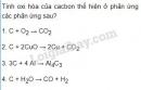 Bài 2 trang 70 sgk Hóa học lớp 11