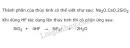 Bài 2 trang 83 SGK Hóa học 11