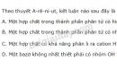 Bài 3 trang 10 sgk Hóa học 11