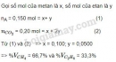 Bài 3 trang 123 sgk Hóa học lớp 11