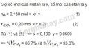 Bài 3 trang 123 SGK Hóa học 11