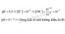 Bài 3 trang 22 sgk Hóa học 11