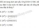 Bài 4 trang 10 SGK Hóa học 11