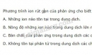 Bài 4 trang 20 SGK Hóa học 11