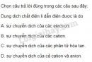 Bài 4 trang 7 SGK Hóa học 11