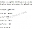 Bài 5 trang 20 SGK Hóa học 11