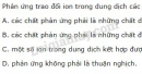 Bài 5 trang 23 SGK Hóa học 11