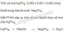 Bài 5 trang 54 sgk hóa học 11