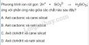 Bài 5 trang 79 SGK Hóa học 11