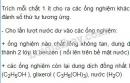 Bài 3 trang 186 sgk Hóa học lớp 11