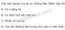 Bài 6 trang 39 SGK Sinh học 11