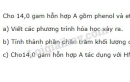 Bài 3 trang 193 sgk Hóa học lớp 11