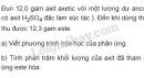 Bài 7 trang 210 sgk hóa học 11