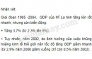 Bài 2 trang 27 sgk địa lý 11