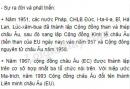 Bài 1 trang 50 SGK Địa lí 11