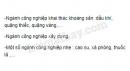 Bài 3 trang 72 SGK Địa lí 11