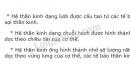 Bài 1 trang 113 SGK Sinh học 11