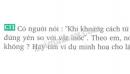 Bài C11 trang 6 SGK Vật lí 8
