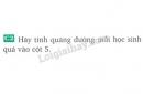 Bài C2 trang 8 SGK Vật lí 8