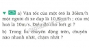 Bài C5 trang 9 SGK Vật lí 8