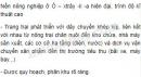 Bài 3 trang 114 SGK Địa lí 11