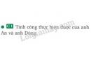 Bài C1 trang 52 sgk vật lí 8