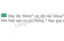 Bài C1 trang 69 SGK Vật lí 8