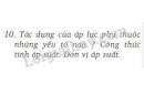 Bài 10 trang 62 SGK Vật lí 8