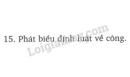 Bài 15 trang 63 SGK Vật lí 8