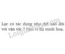 Bài 5 trang 62 SGK Vật lí 8