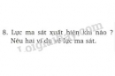 Bài 8 trang 62 SGK Vật lí 8