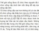 Bài 2 trang 9 SGK Sinh 10