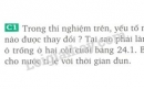 Bài C1 trang 84 sgk vật lý 8