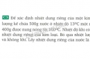 Bài C3 trang 89 sgk vật lý 8