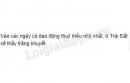 Câu hỏi lý thuyết 2 - SGK Trang 60 Địa lí 10-