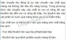 Bài 1 trang 50 SGK Sinh học 10