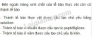 Bài 3 trang 46 SGK Sinh 10