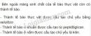 Bài 3 trang 46 SGK Sinh học 10