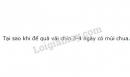 Câu 3 trang 94 SGK Sinh học 10