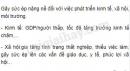 Câu hỏi lý thuyết 5 - SGK Trang 85 Địa lí 10-