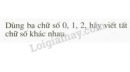 Bài 14 trang 10 SGK Toán 6 tập 1